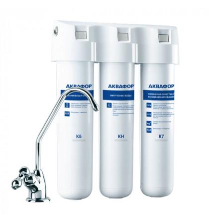 Проточный фильтр Аквафор Кристалл-A для жесткой воды