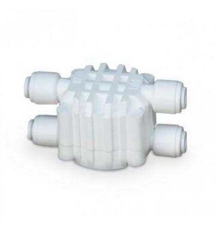 Клапан четырехходовой для систем обратного осмоса