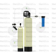 Гейзер Аэрация и обезжелезивание 0,6 куб.м/час, 1-2 крана, Clack