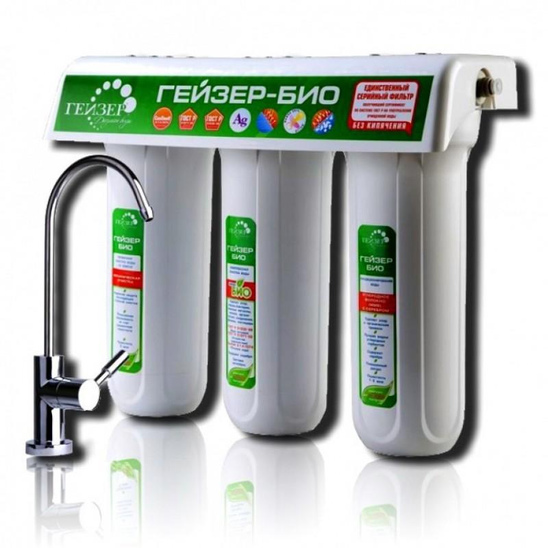 Фильтр для воды Гейзер Био 331 с краном (16016)