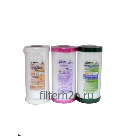 Комплект № 14 для обезжелезивания и умягчения воды 10ВВ