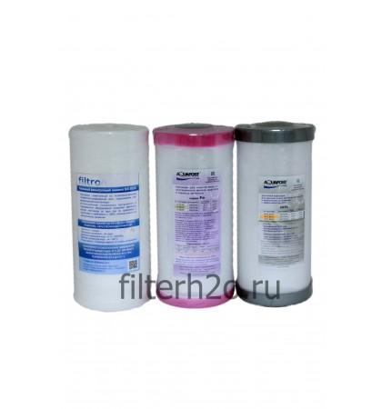 Комплект № 11 для обезжелезивания воды 10ВВ