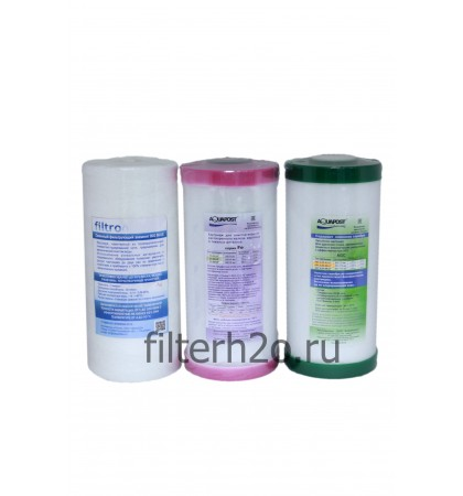 Комплект № 12 для обезжелезивания воды 10ВВ